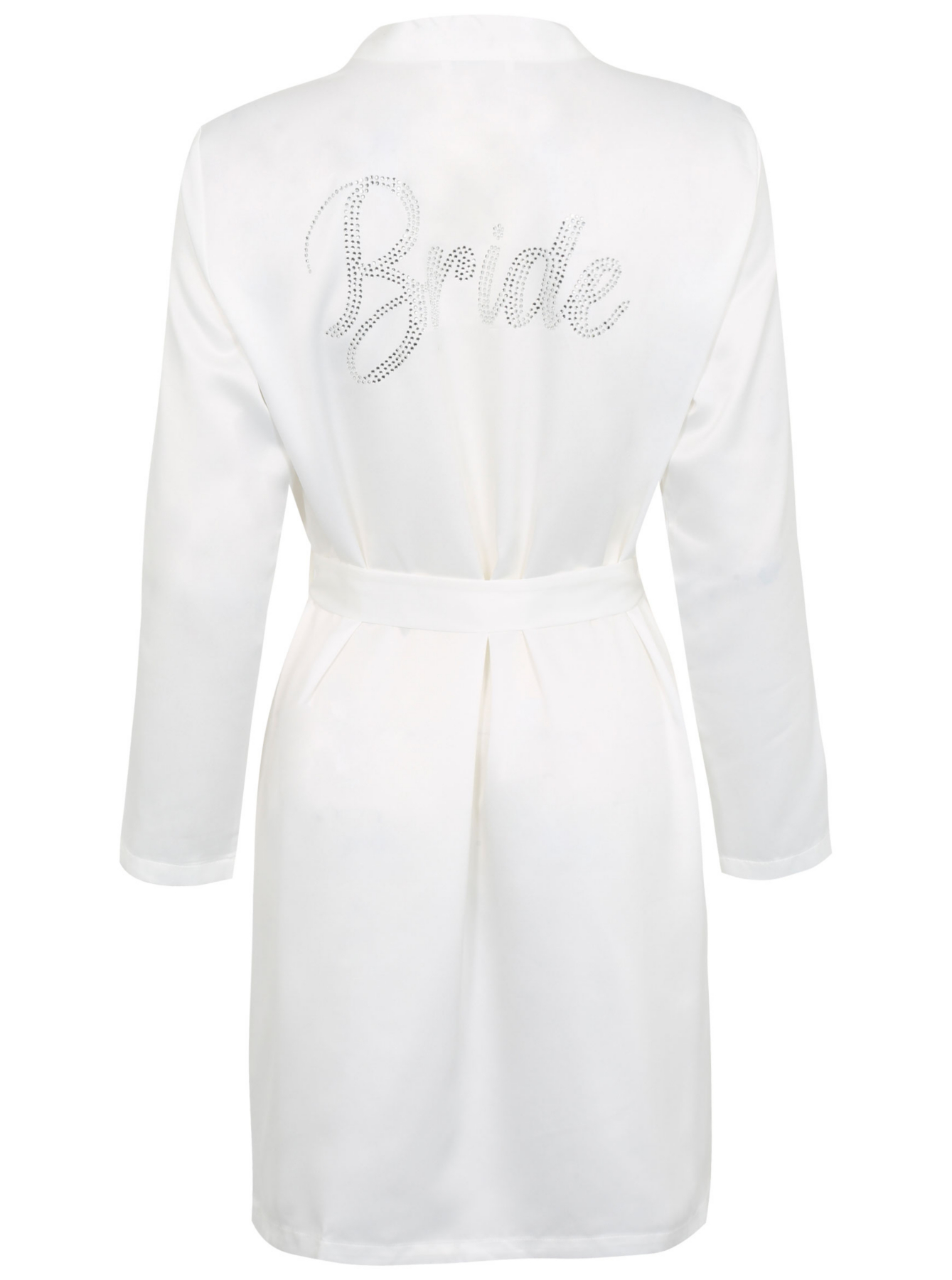 Diamante Bride Dressing Gown Women George