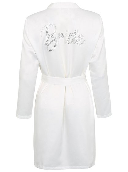 Diamante Bride Dressing Gown | Women | George