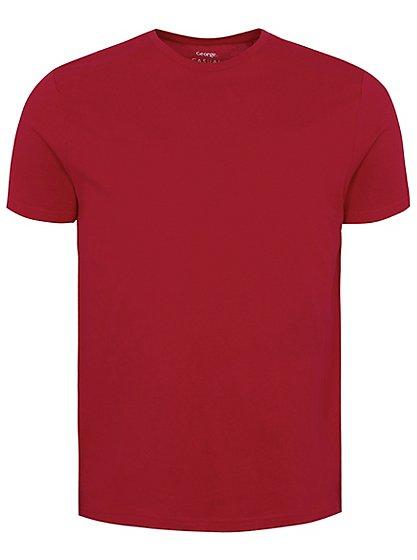 Textured T-Shirt | Men | George at ASDA