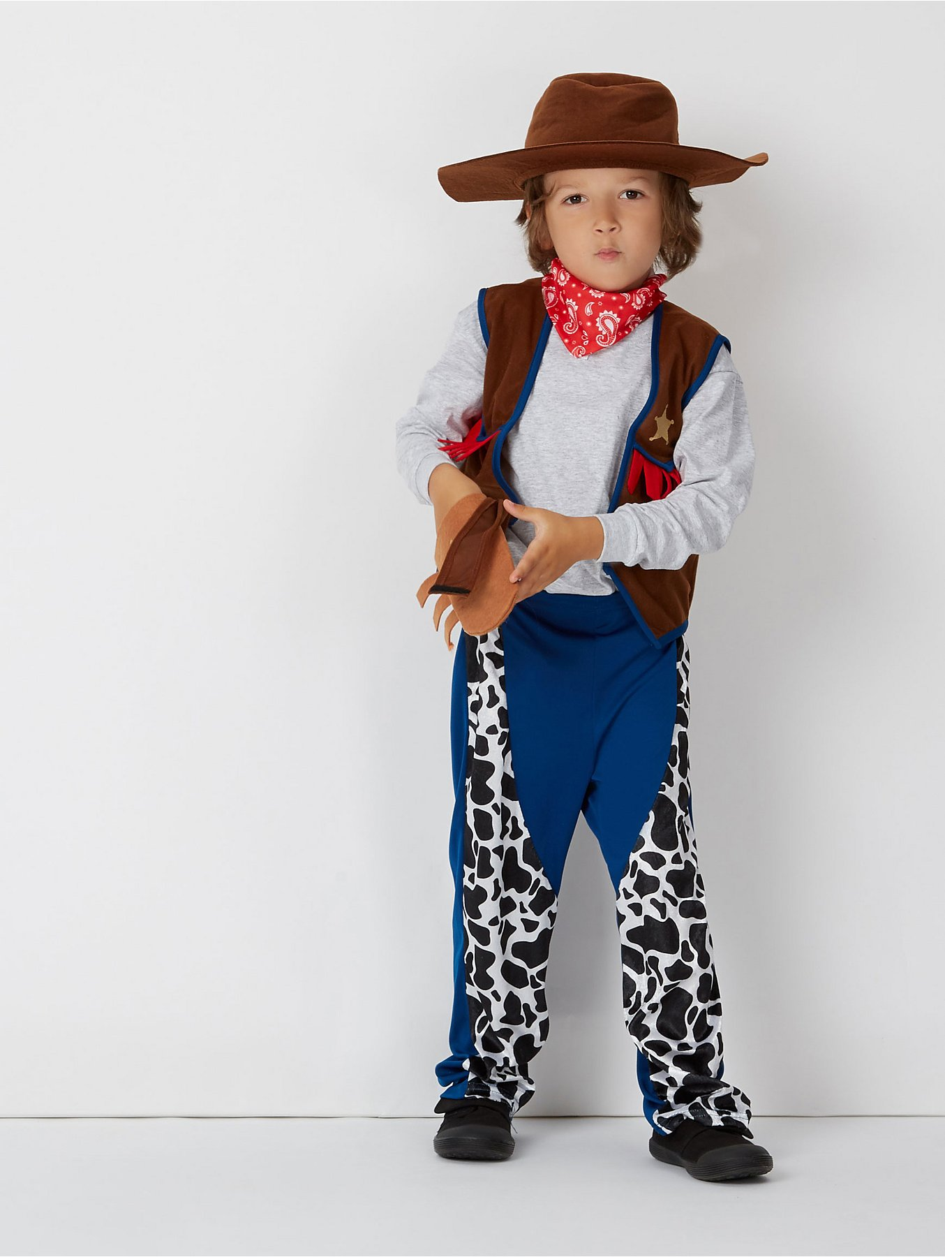 7f7be881186 Cowboy Fancy Dress Costume