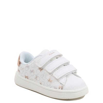 George Disney Minnie Mouse 3 Strap Trainers - White