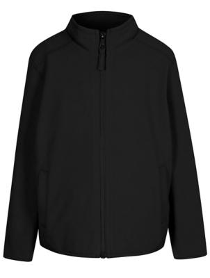 Black fleece jacket asda