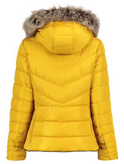 Faux Fur Trim Padded Coat | Women | George