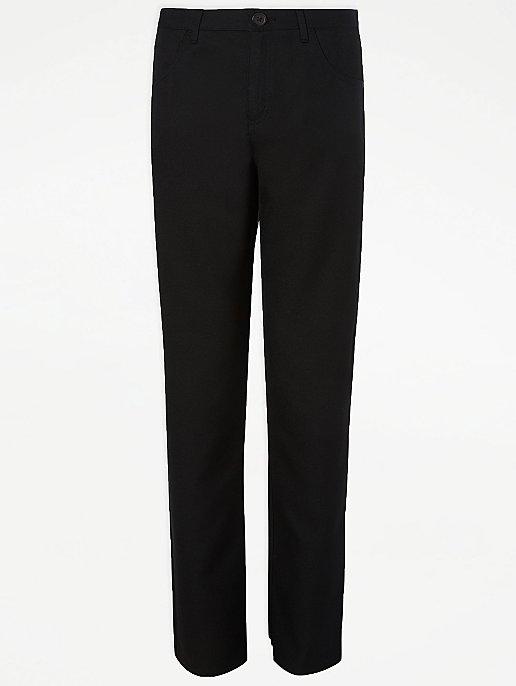 Boys Sturdy Comfort Fit School Trousers  School Uniform trousers Comfort fit