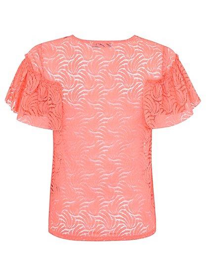 Lace T-Shirt | Women | George at ASDA