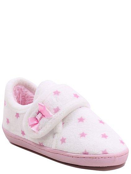 star print full back slippers kids george. Black Bedroom Furniture Sets. Home Design Ideas