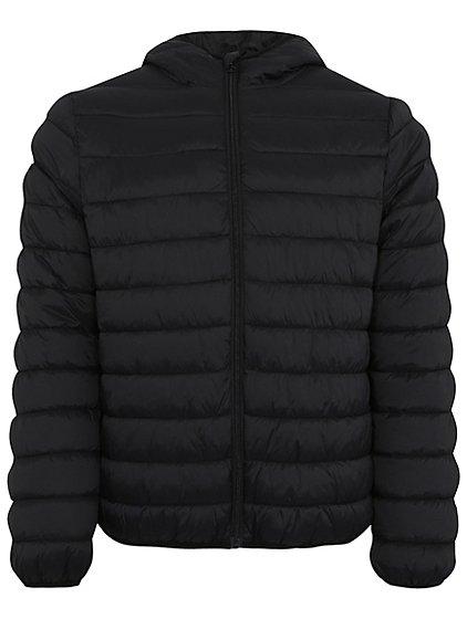 packable shower resistant hooded jacket men george. Black Bedroom Furniture Sets. Home Design Ideas