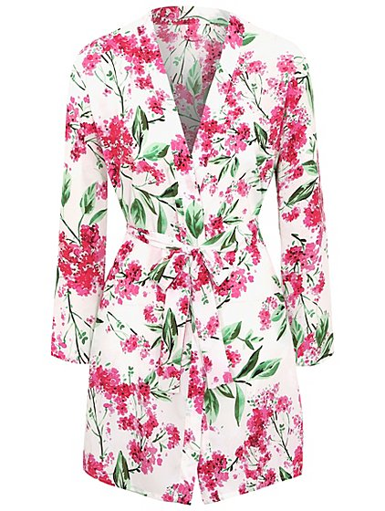 Floral Print Dressing Gown   Women   George