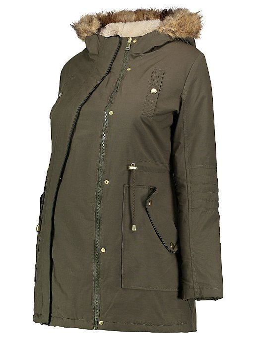 bc41125d2aa3a Maternity Shower Resistant Parka | Women | George