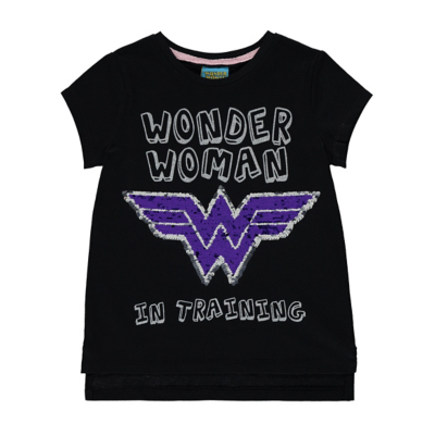 George DC Comics Wonder Woman T-Shirt - Black