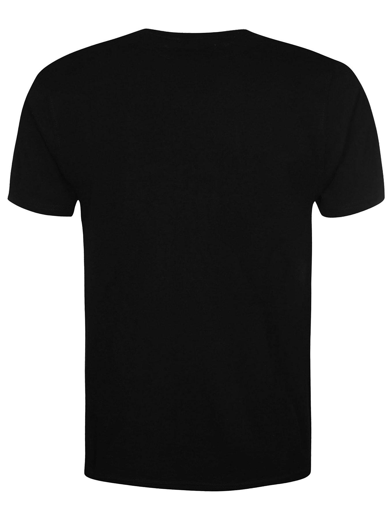 V-neck T-shirt - Black   Men   George at ASDA