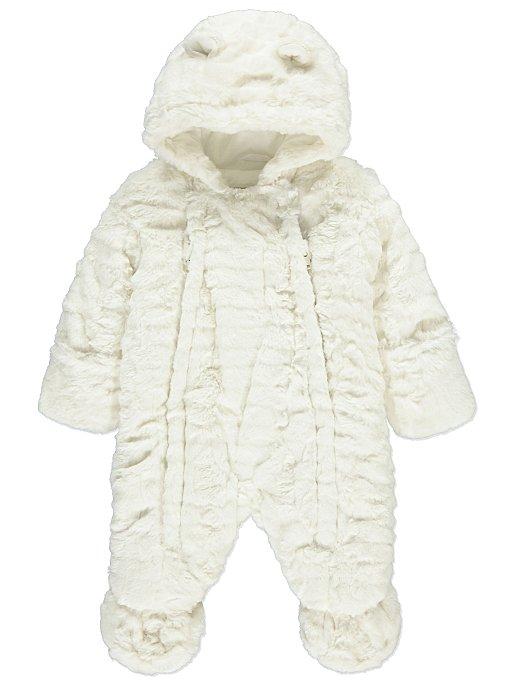 4d7f39b5bca5 Faux Fur Snowsuit