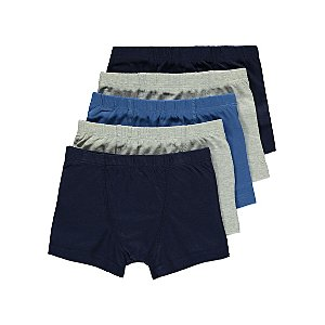 Assorted Hipster Trunks 5 Pack