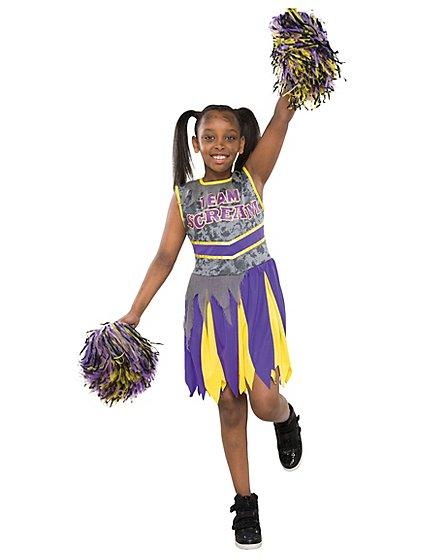 Cheerleader Team Scream Halloween Costume | Kids | George