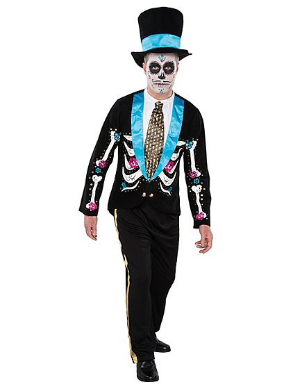 Adult Day of the Dead Halloween Costume | Men | George