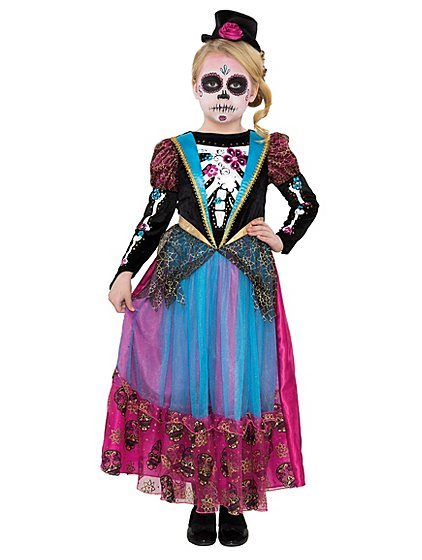 Day of the Dead Halloween Costume | Kids | George