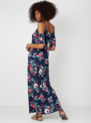 High neck maxi dresses uk only asda