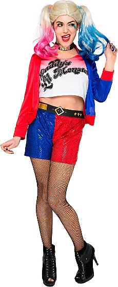 Adult DC Harley Quinn Halloween Costume | Women | George