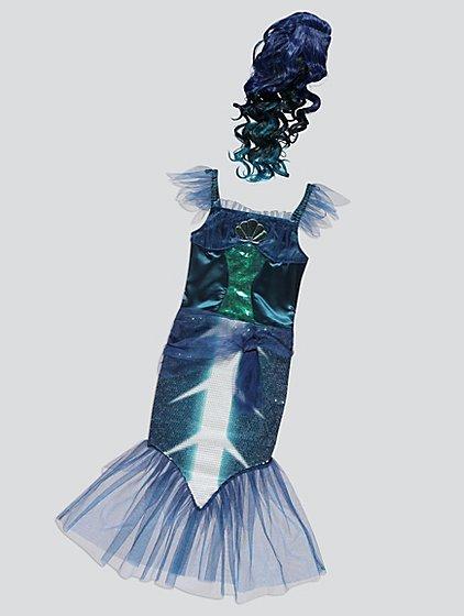 dark mermaid halloween costume kids george - Mermaid Halloween Costume For Kids