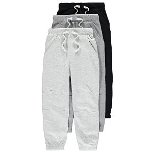 Grey Joggers 3 Pack