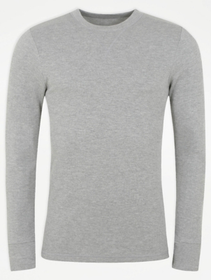 Thermal Crew Neck Long Sleeve Top