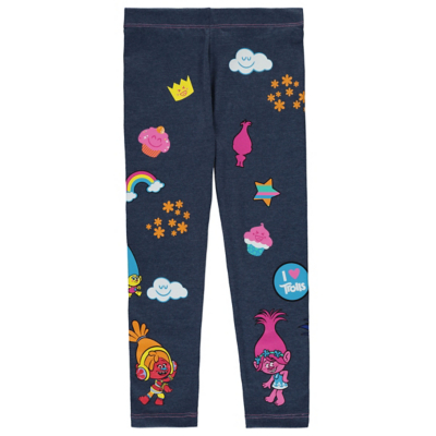 George Trolls Leggings - Navy, Navy.
