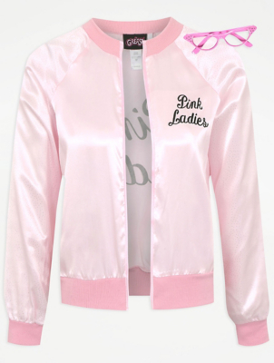 Pink bomber jacket fancy dress