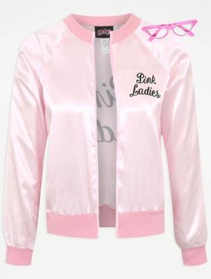 sc 1 st  George - Asda & Adult Pink Ladies Fancy Dress Costume | Women | George