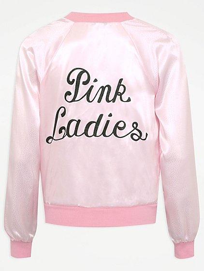 Adult Pink Ladies Fancy Dress Costume Women George