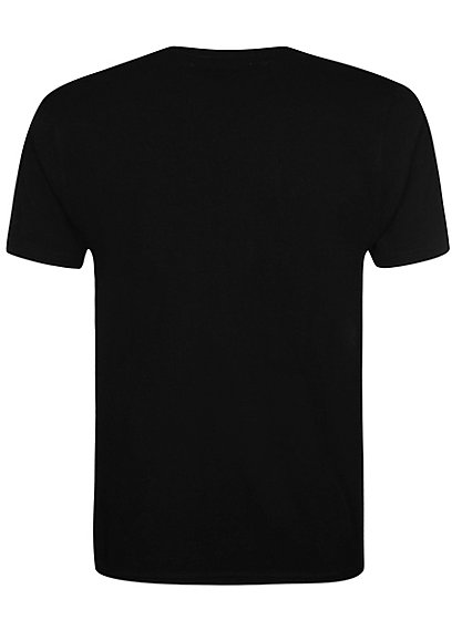 V neck t shirt black men george at asda V neck black t shirt
