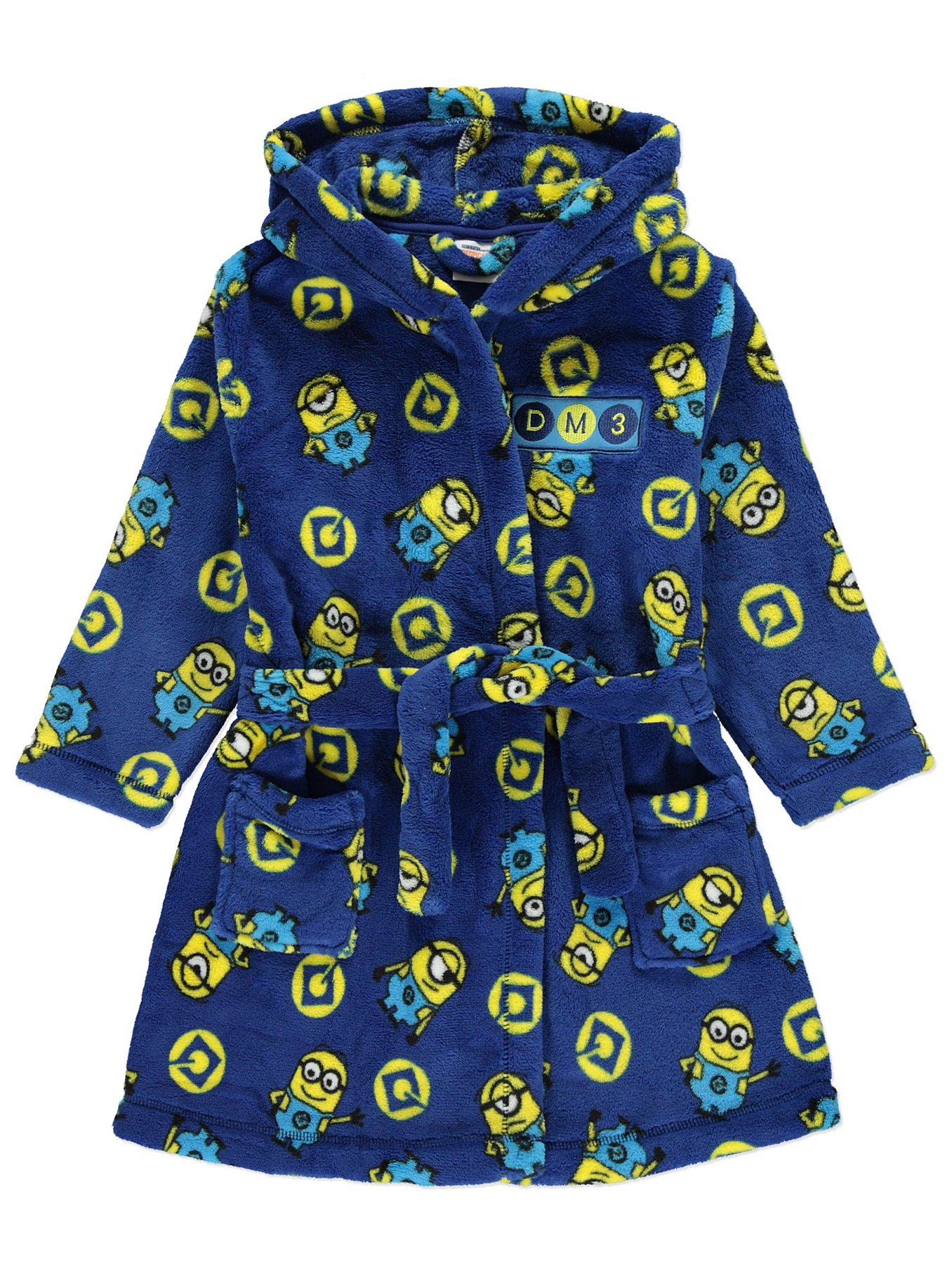 Despicable Me 3 Minions Dressing Gown | Kids | George