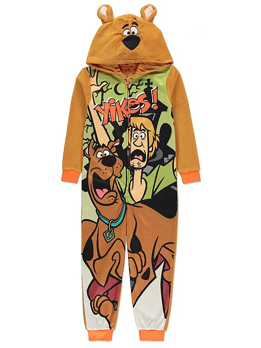 b48db37f09 Scooby Doo Hooded Onesie