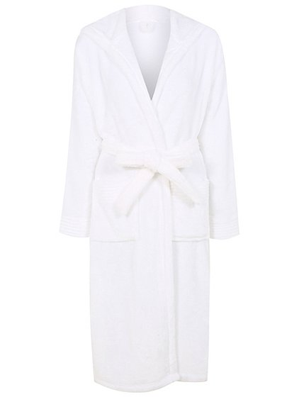 Fine Hooded Dressing Gown Ornament - Long Formal Dresses Evening ...
