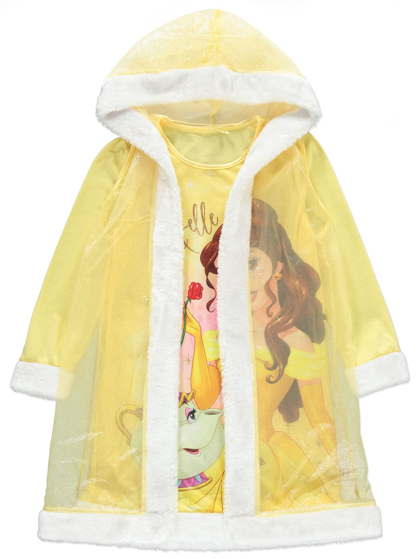 c0aa1305b Disney Princess Belle Nightdress with Cape Accessory | Kids | George