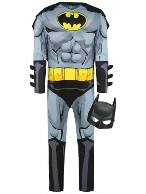 sc 1 st  George - Asda & Adult DC Comics Batman Fancy Dress Costume | Men | George