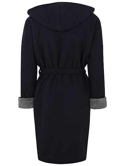 Hooded Fleece Dressing Gown | Men | George