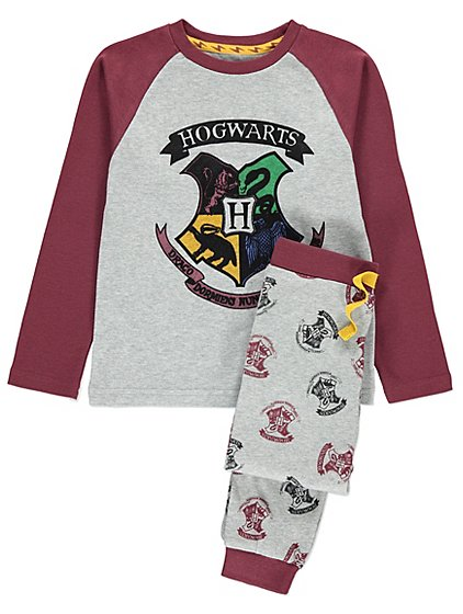 harry potter girls harry potter pyjamas hogwarts ages 4 to 13 years 10 11 years. Black Bedroom Furniture Sets. Home Design Ideas