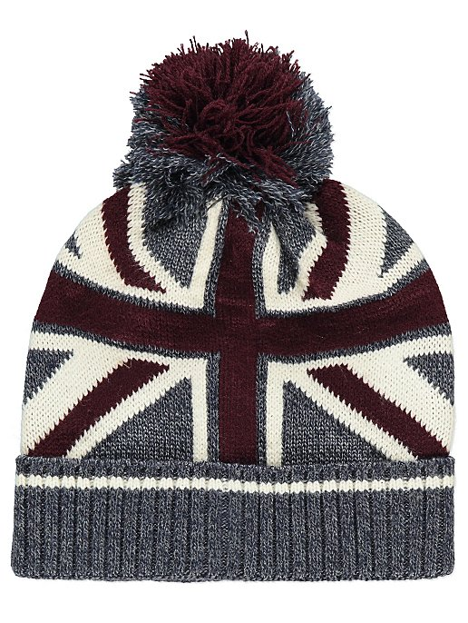 f7ad05fa7a3 Union Jack Bobble Hat