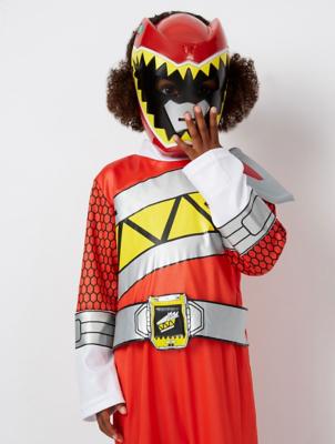 & Power Rangers Dino Charge Fancy Dress Costume | Kids | George