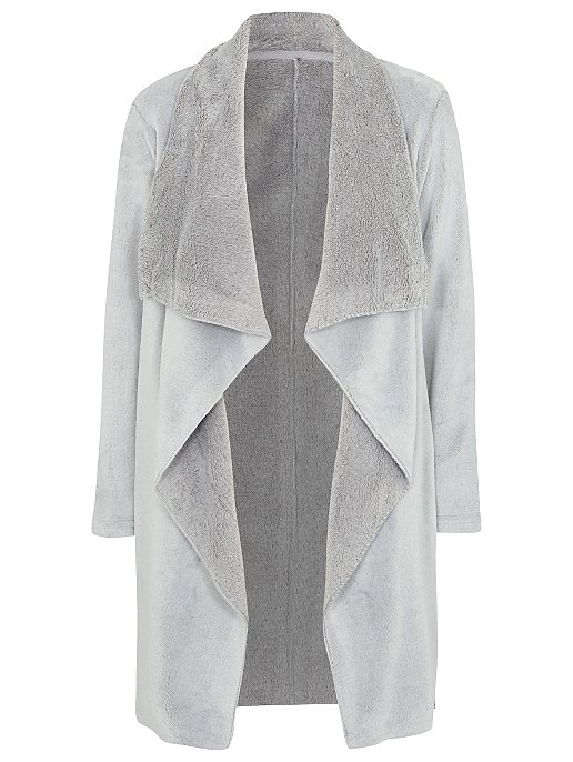 Tickled Pink Waterfall Wrap Dressing Gown  16e9a38ae