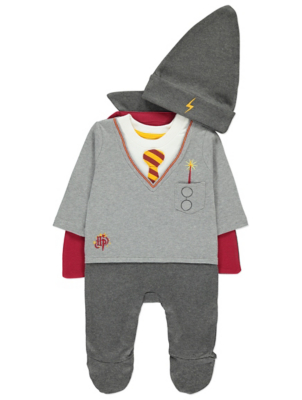 sc 1 st  George - Asda & Harry Potter All-in-One with Hat and Cape | Baby | George
