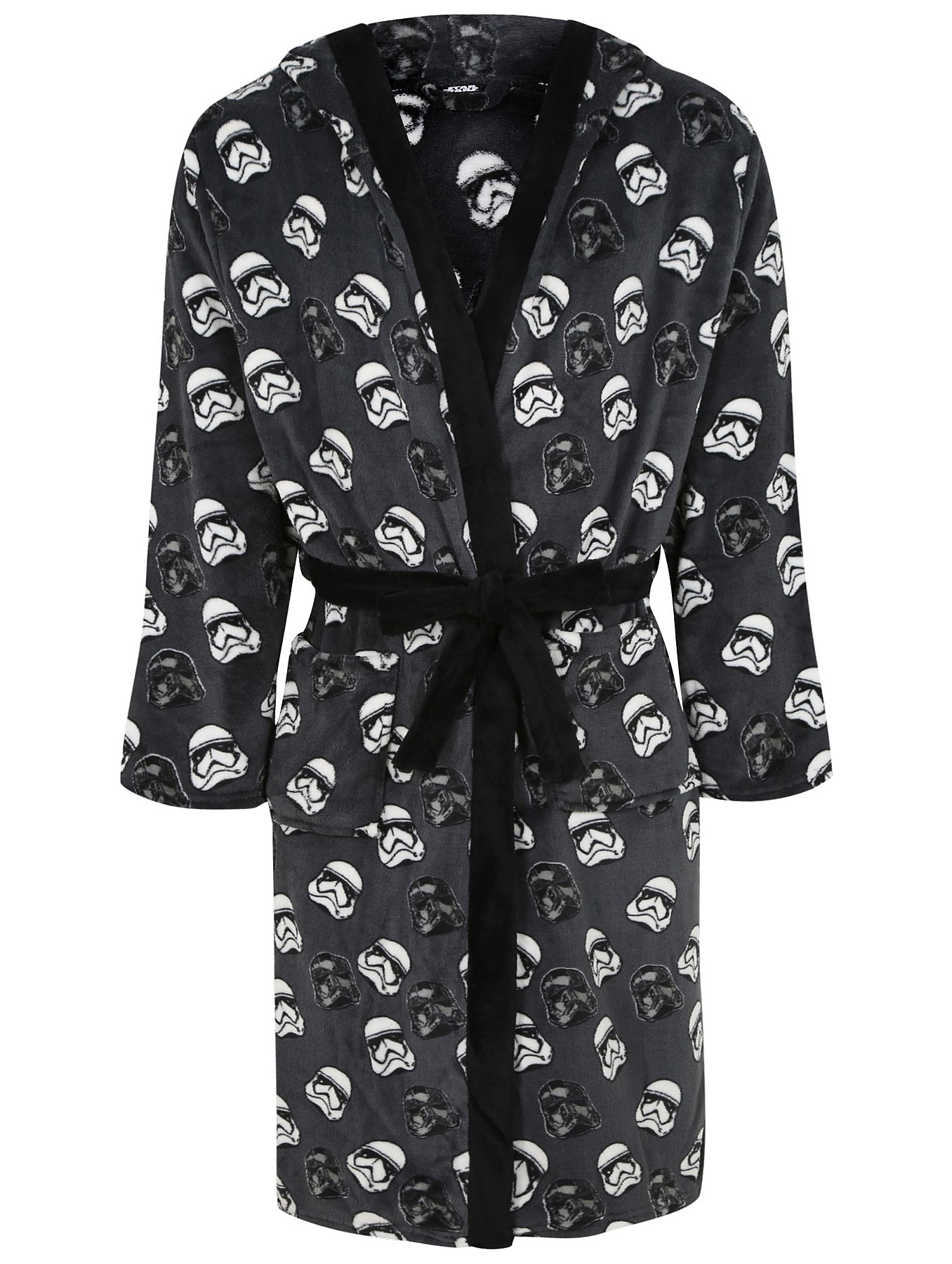 Star Wars Hooded Fleece Dressing Gown | Men | George