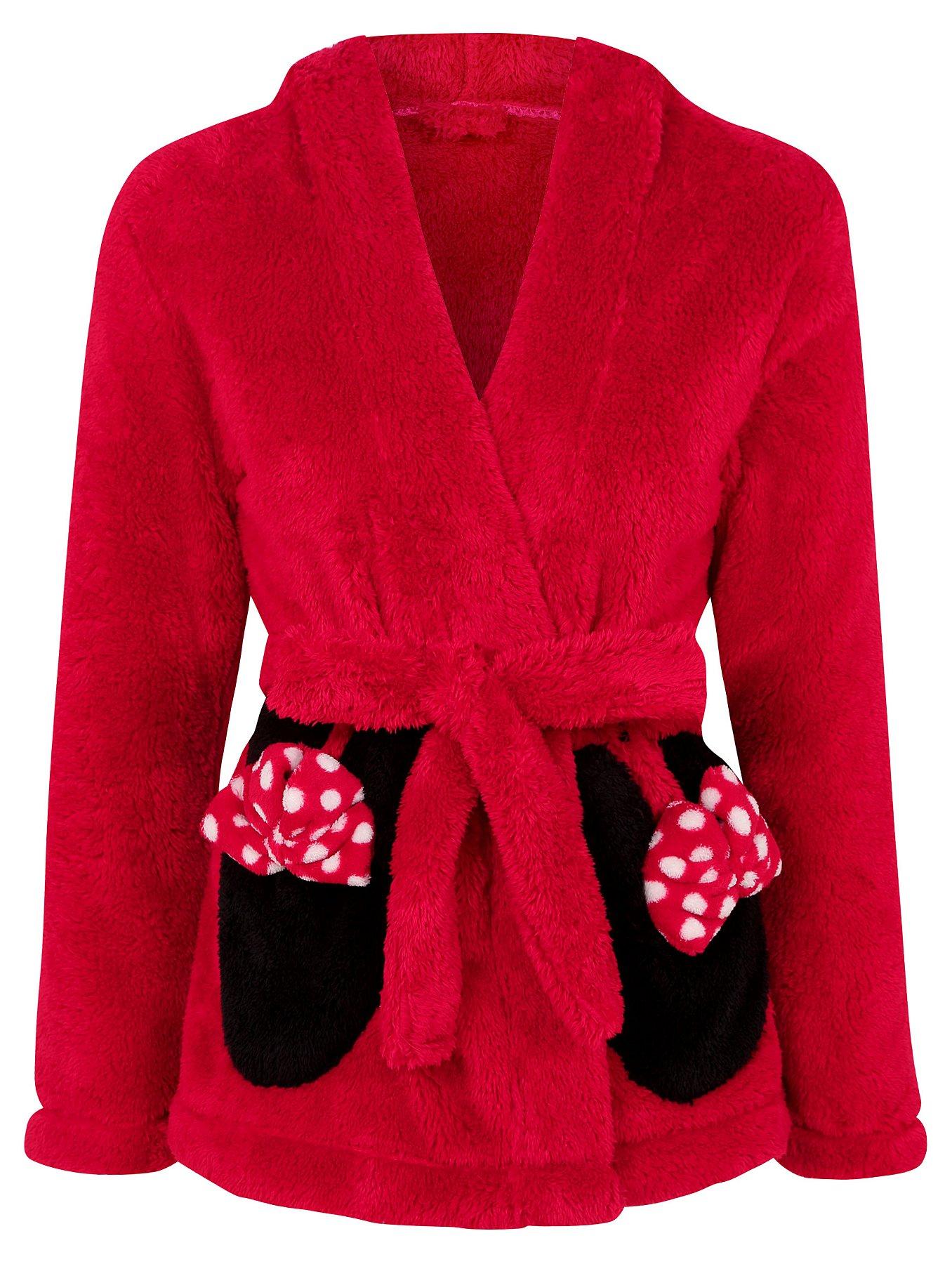 Disney Minnie Mouse 3 Piece Dressing Gown and Pyjama Set | Women ...