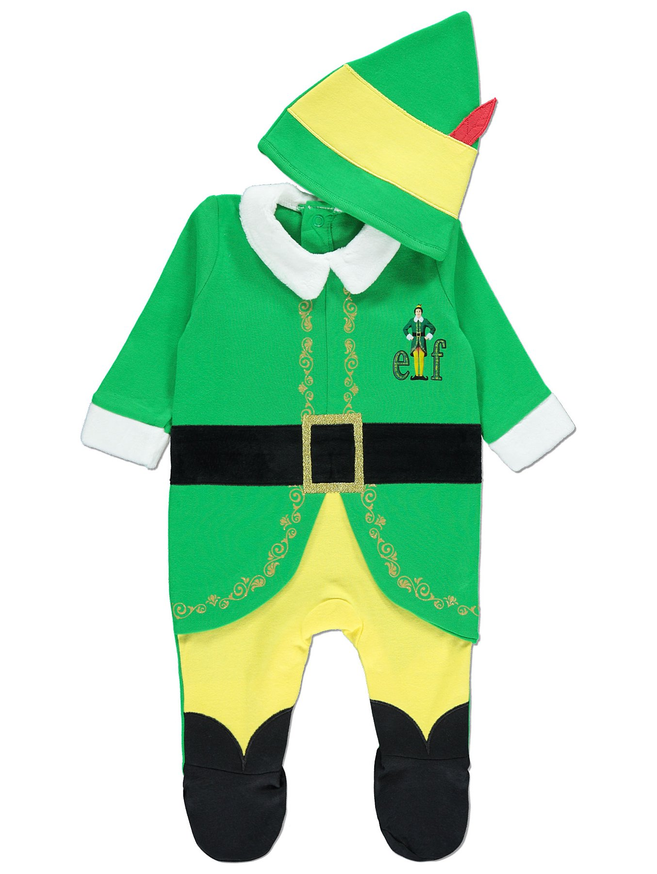 c554c2938 Buddy the Elf Christmas All in One with Hat | Baby | George