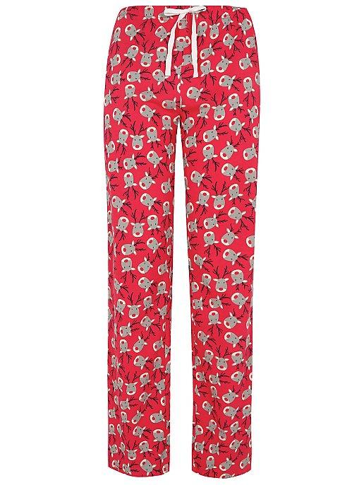 827bb8d974 Reindeer Print Christmas Pyjama Bottoms. Reset