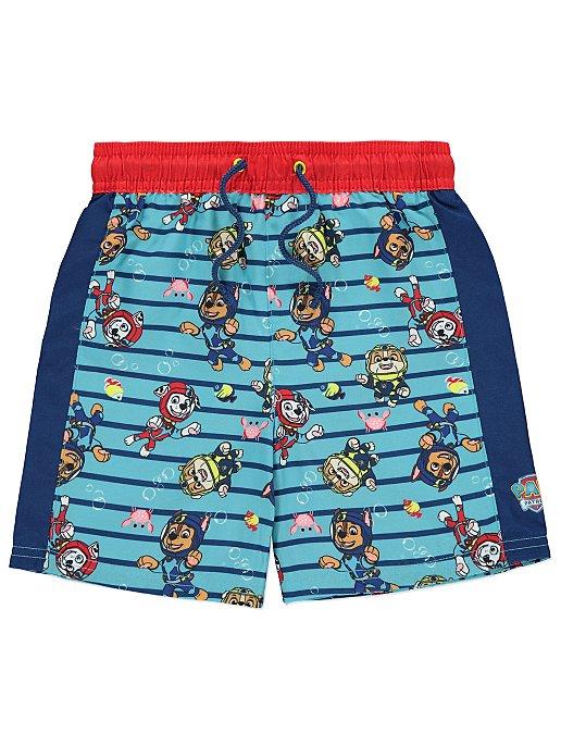 b0fb87f341f95 PAW Patrol Swim Shorts | Kids | George