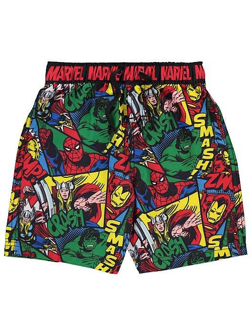 e2f03f327f Marvel Comics Swim Shorts   Kids   George