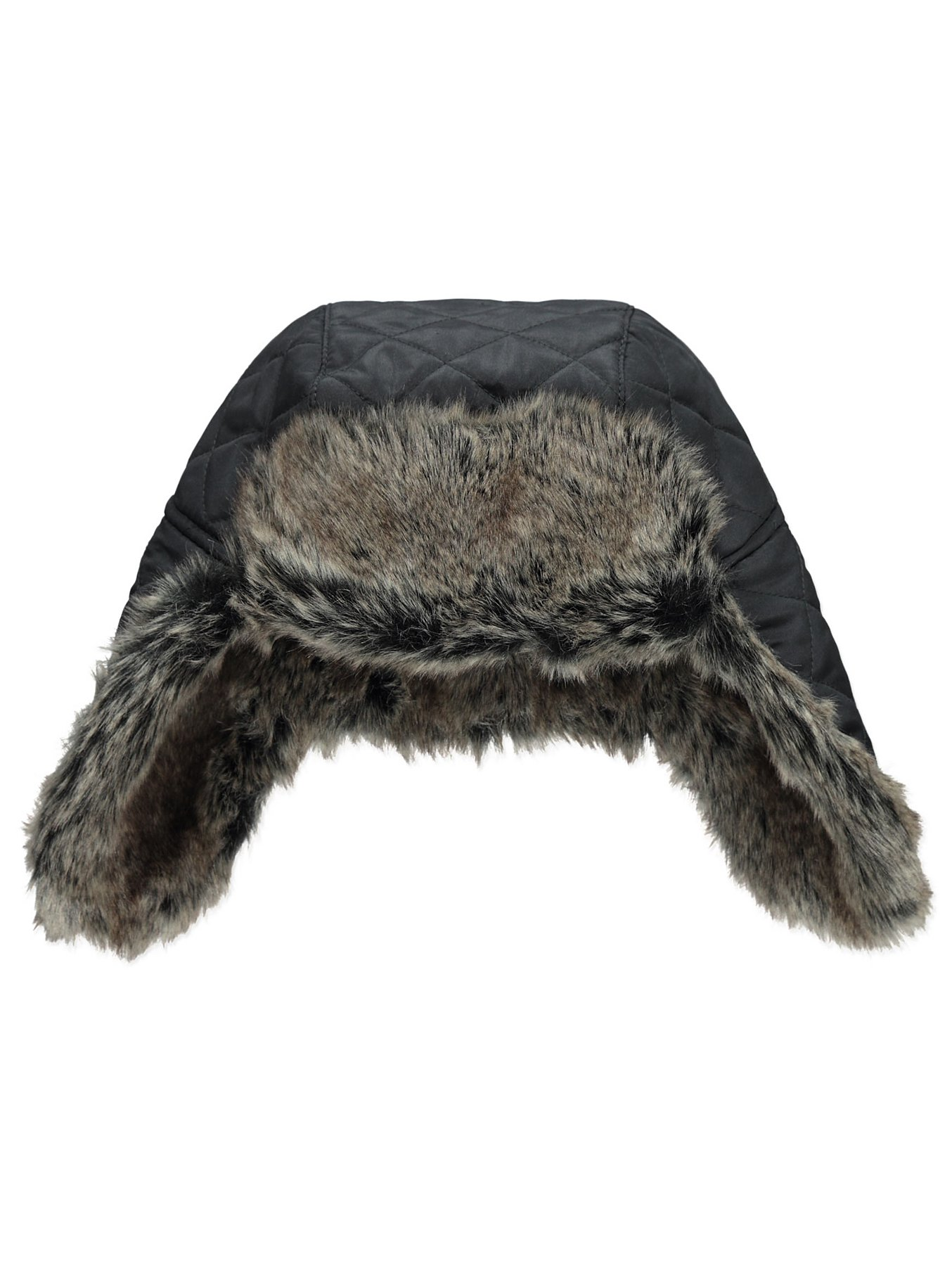 1eedecaacd0 Faux Fur Trim Trapper Hat