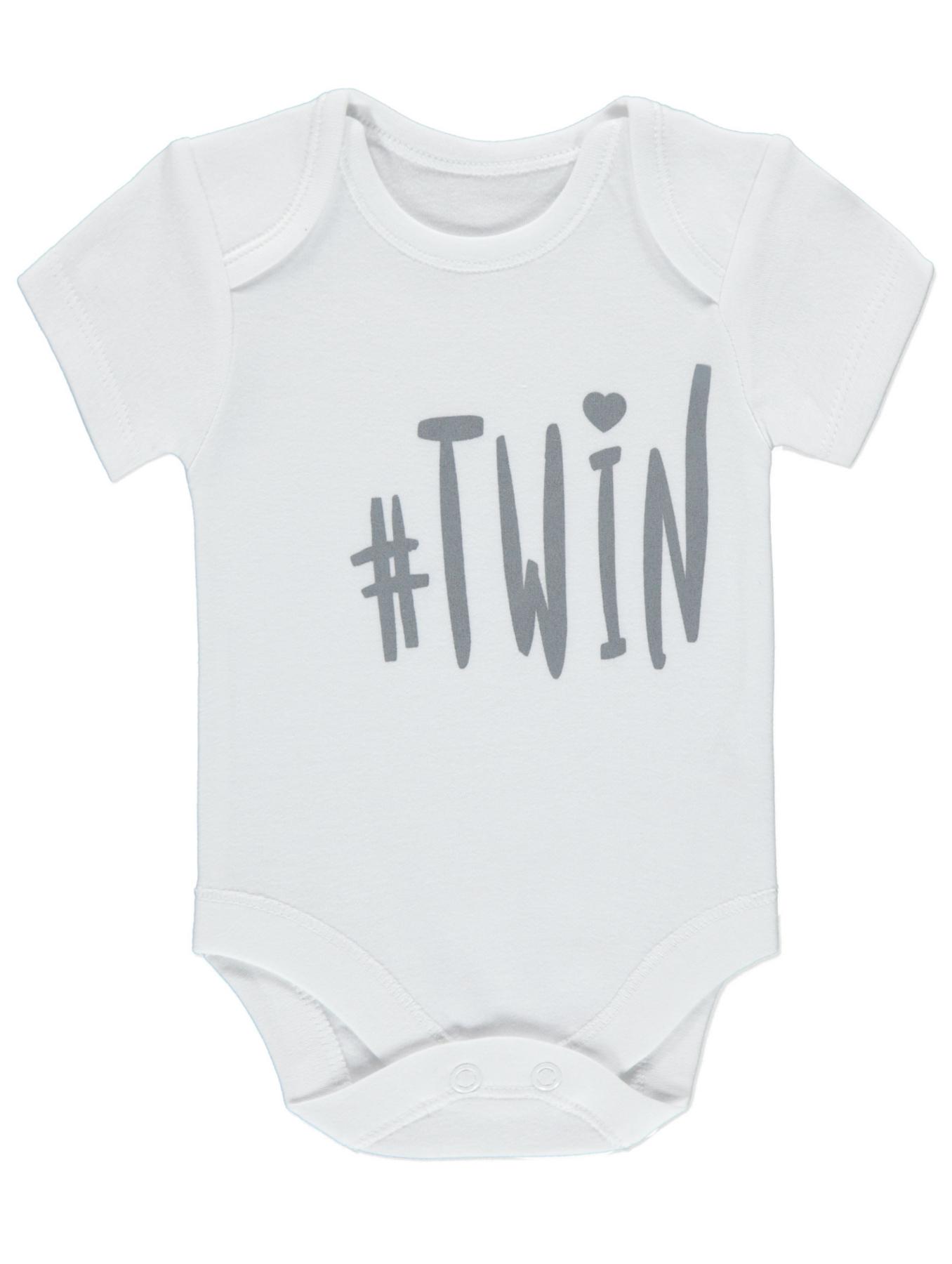 Twinning Twin Bodysuits Baby