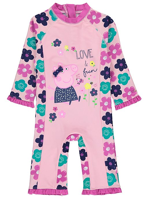 Peppa Pig Sun Protection Swimsuit. Reset e786ae13a